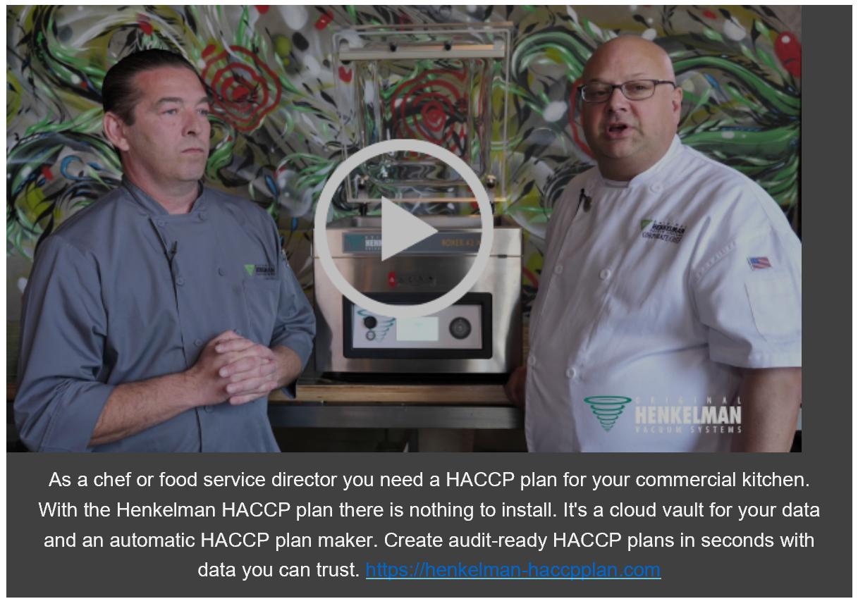 HACCP Henkelman