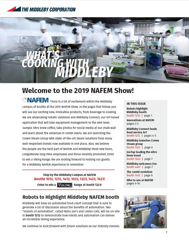 Middleby 2019 NAFEM