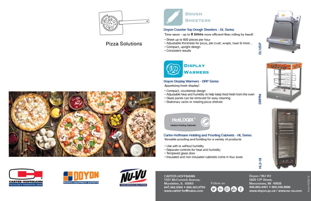 Carter-Hoffmann, Doyon/NU VU Pizza