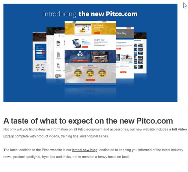 Pitco Web