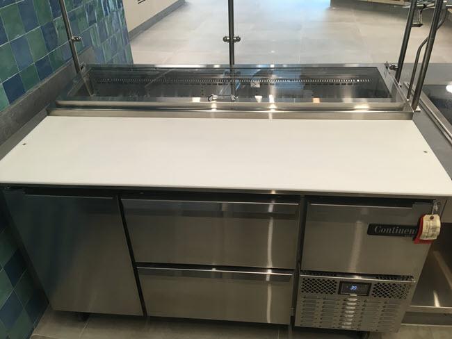Continental refirgerator
