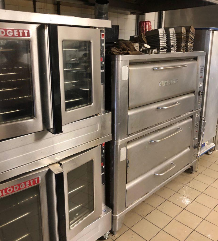 Blodgett ovens in kitchen