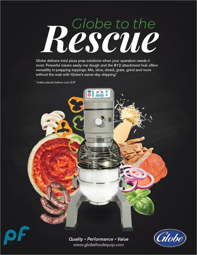 lobe to the Rescue - Pizza mixer Ad