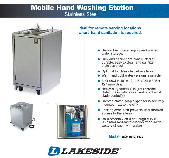 Lakeside Mobile Sink