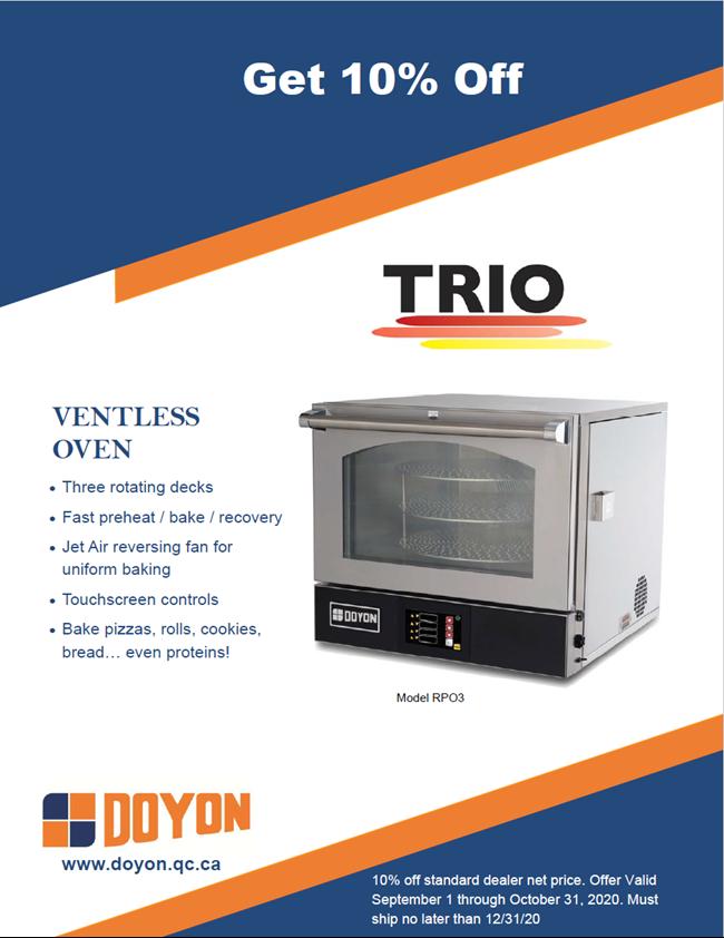 Doyon Trio Oven