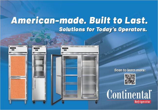 Contintaenl Refrigeraotr Ad
