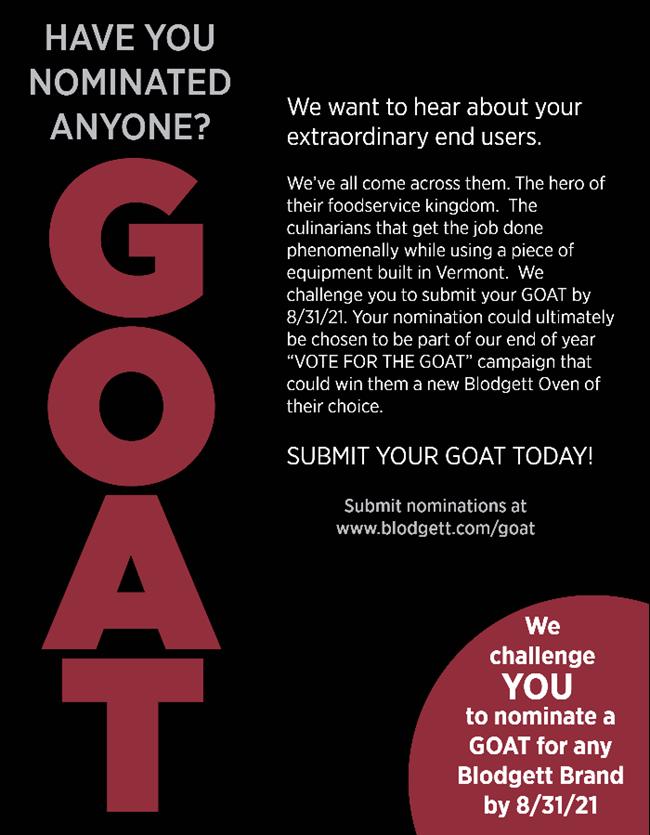 Blodgett Goat contest