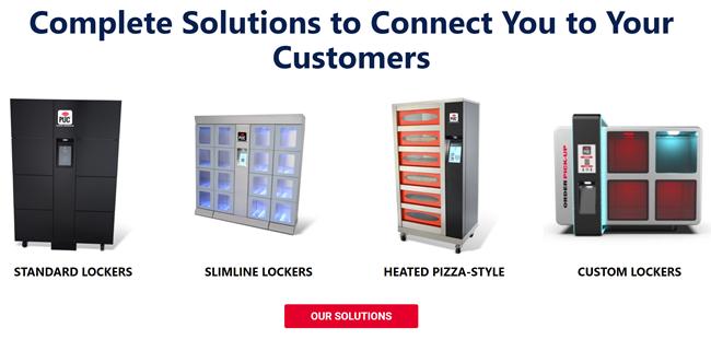 Pickup cabinet subweb